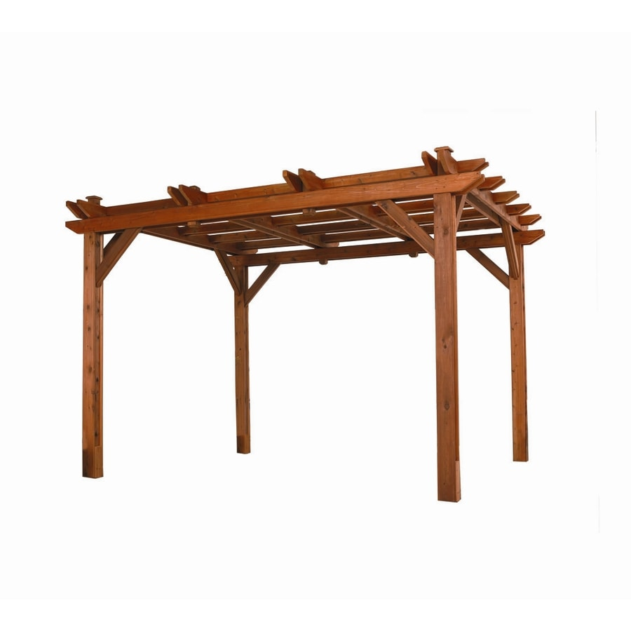 Heartland 138-in W x 162-in L x 104.5-in H Microshade - Shop Pergolas At Lowes.com
