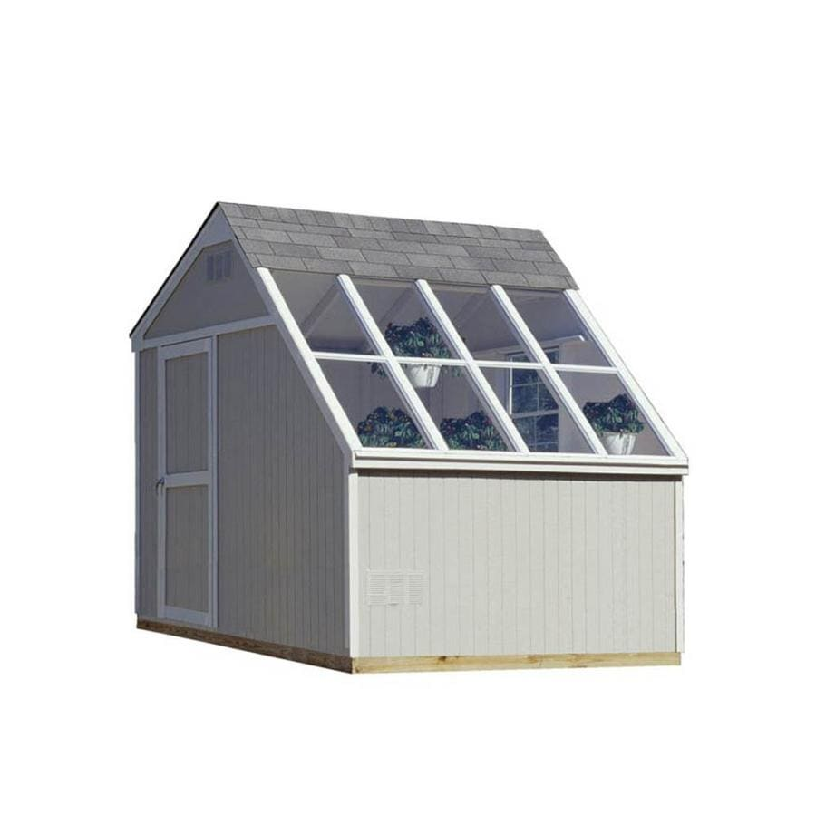 Heartland (Common: 10-ft x 8-ft; Interior Dimensions: 10-ft x 7.71-ft) Horizon Saltbox Engineered Storage Shed (Installation Not Included)