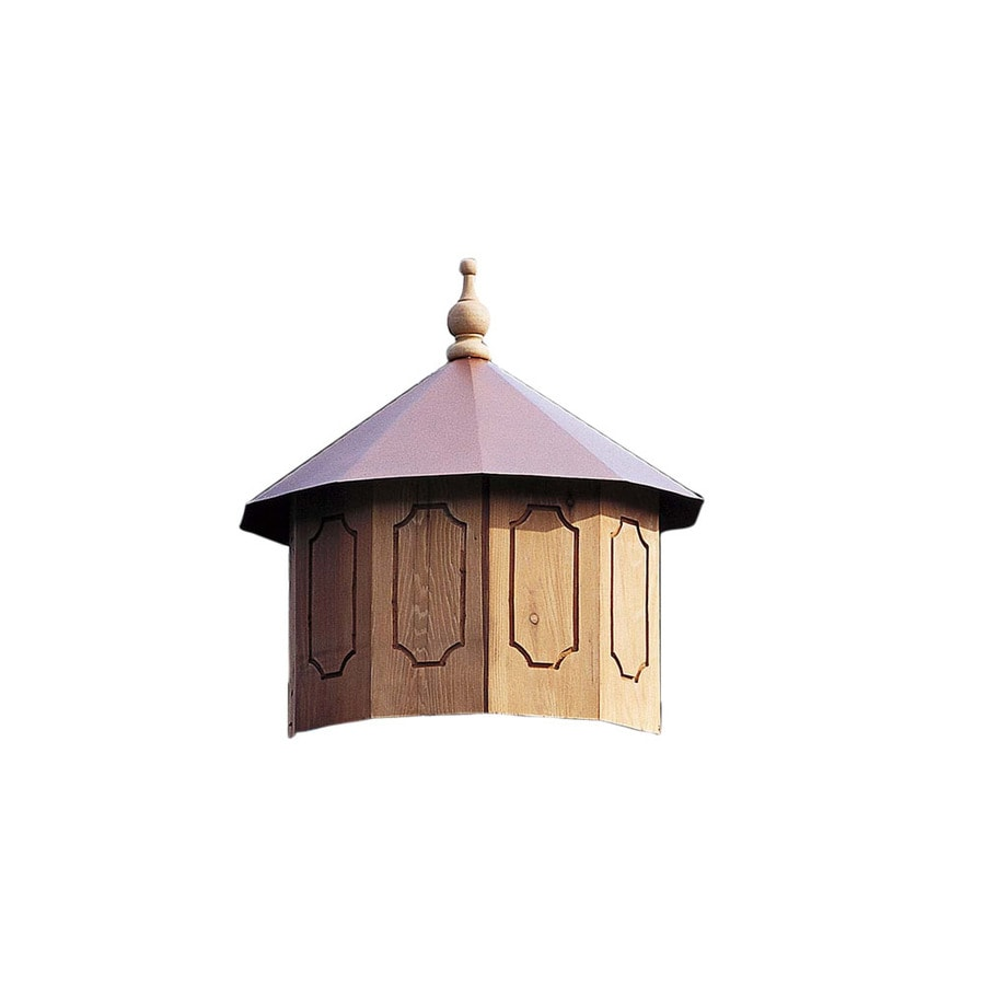 Heartland Cupola for 12' Round Gazebo Brown/Tan Wood Square Gazebo