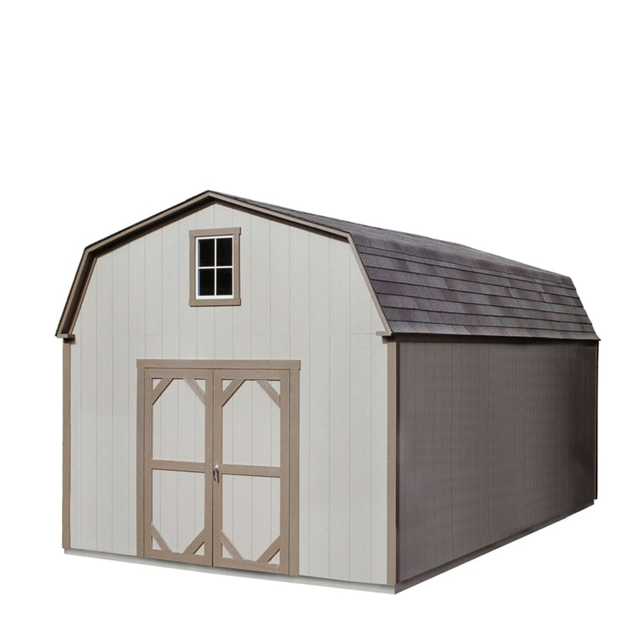 Heartland Installed Country Manor 12 x 20 Wood Storage Building