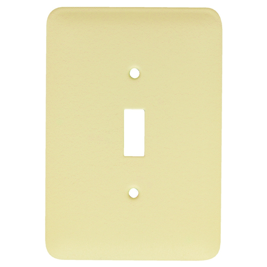 Mulberry 1-Gang Ivory Toggle Wall Plate