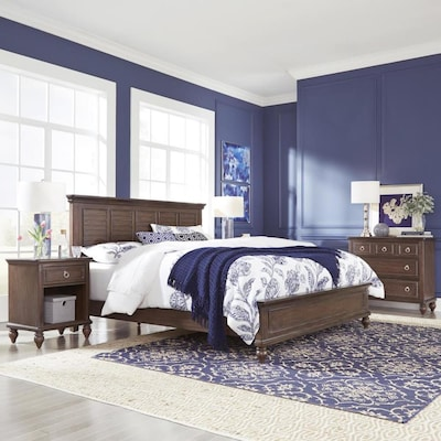 Home Styles Southport King Bed Night Stand And Chest At Lowes Com