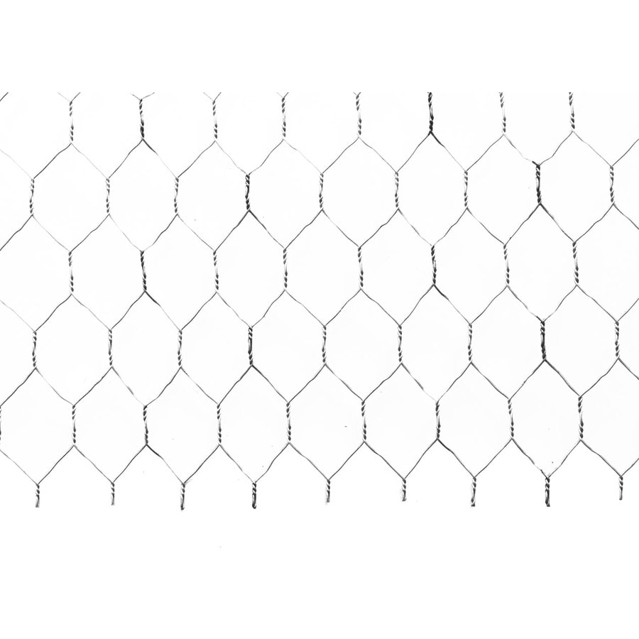 Galvanized Steel Stucco Netting (Common: 36-in x 1,800-in; Actual: 35.75-in x 1,799-in)