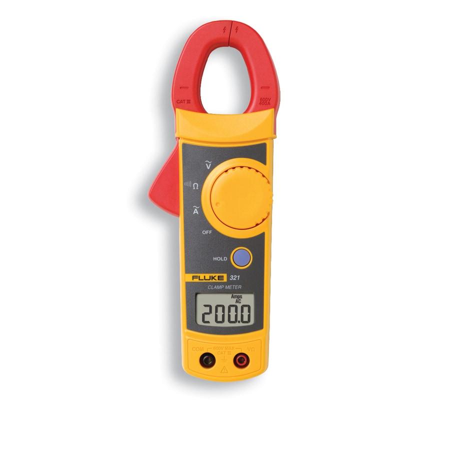 Fluke Digital Clamp Meter : Shop fluke digital clamp meter at lowes