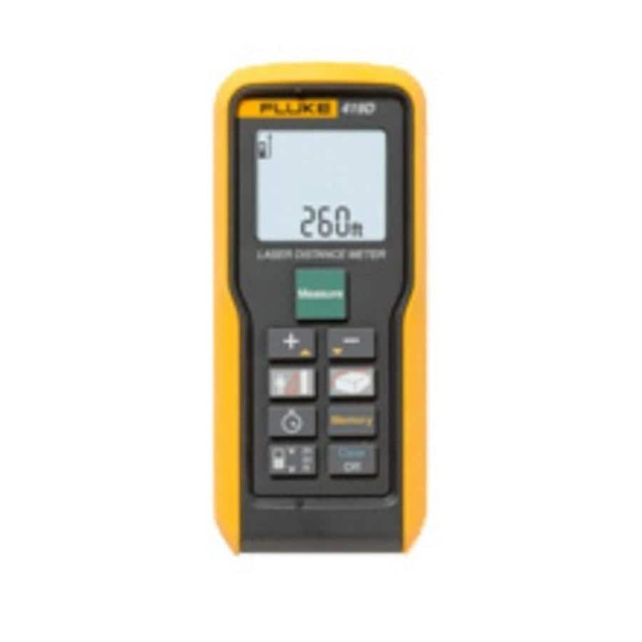 Fluke 260 Ft Outdoor Laser Distance Measurer With Backlit Display In The Laser Distance Measurers Department At Lowes Com