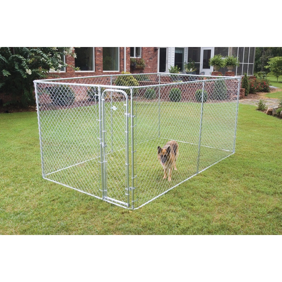 Chain Link Fencing Dog Kennel Boxed Lowes