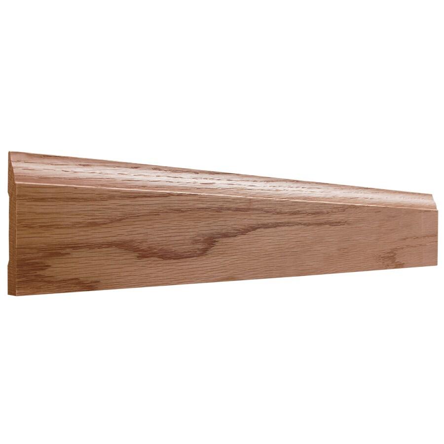 EverTrue 2.75-in x 10-ft Interior Oak Baseboard Moulding