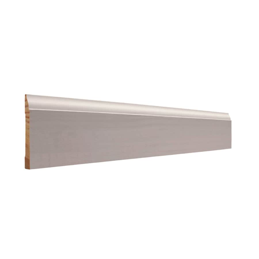 EverTrue 3-in x 8-ft Interior Pine Primed PFJ Baseboard Moulding