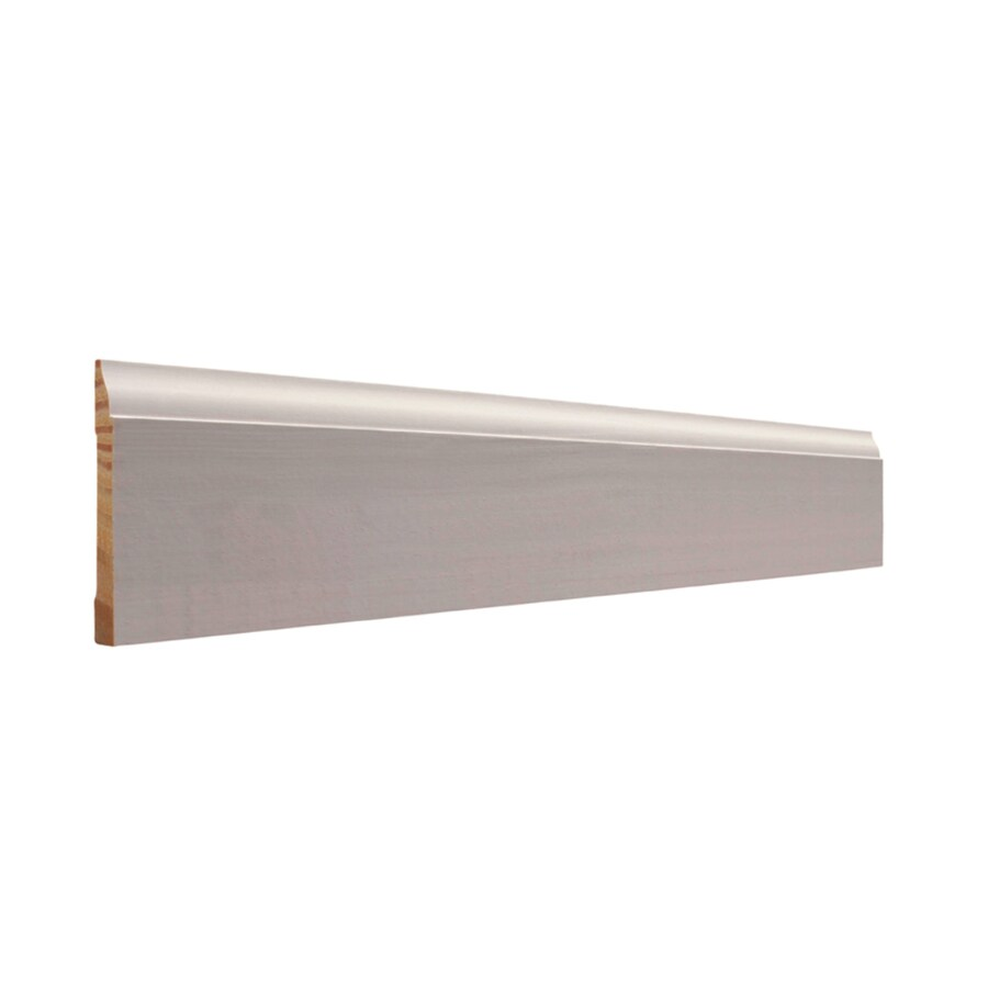 EverTrue 3-in x 10-ft Interior Pine Primed Finger Joint Baseboard Moulding