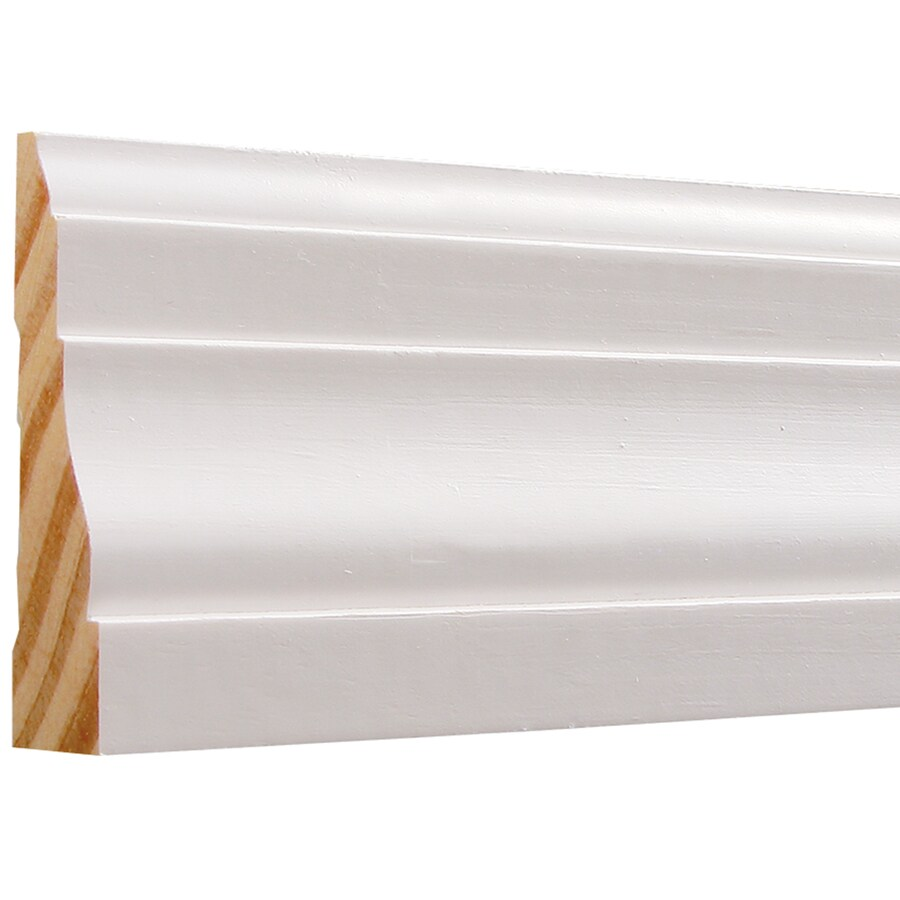 EverTrue 2.25-in x 10-ft Interior Pine Primed PFJ Window and Door Casing