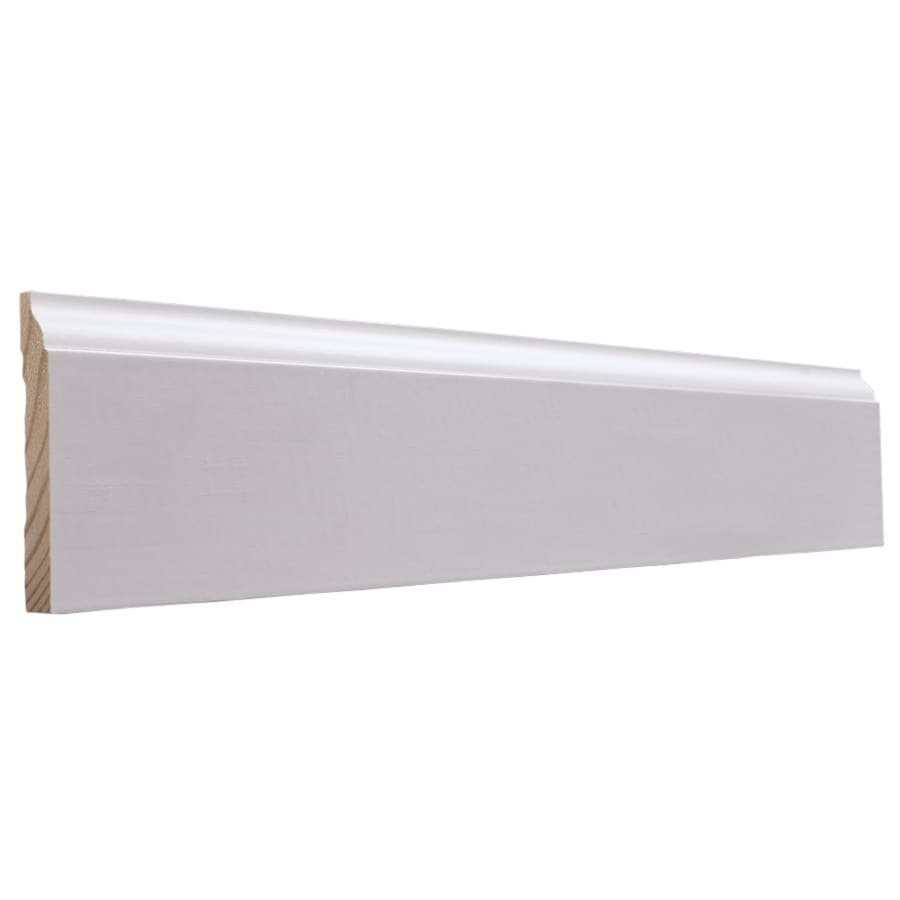 EverTrue 3.25-in x 10-ft Interior Pine PFJ Baseboard