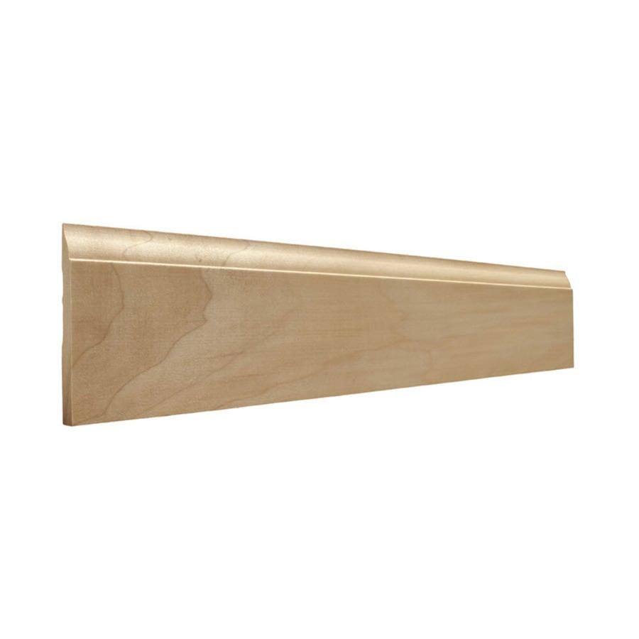 EverTrue 3.25-in x 8-ft Interior Poplar Baseboard