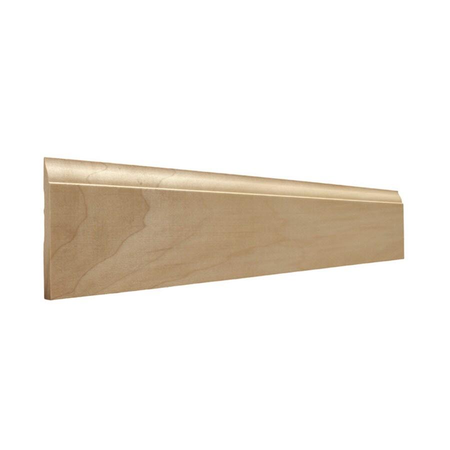 EverTrue 3.25-in x 12-ft Interior Poplar Baseboard Moulding