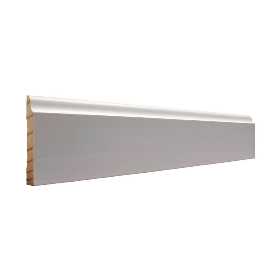 EverTrue 3.25-in x 16-ft Interior Pine Primed Finger Joint Baseboard Moulding