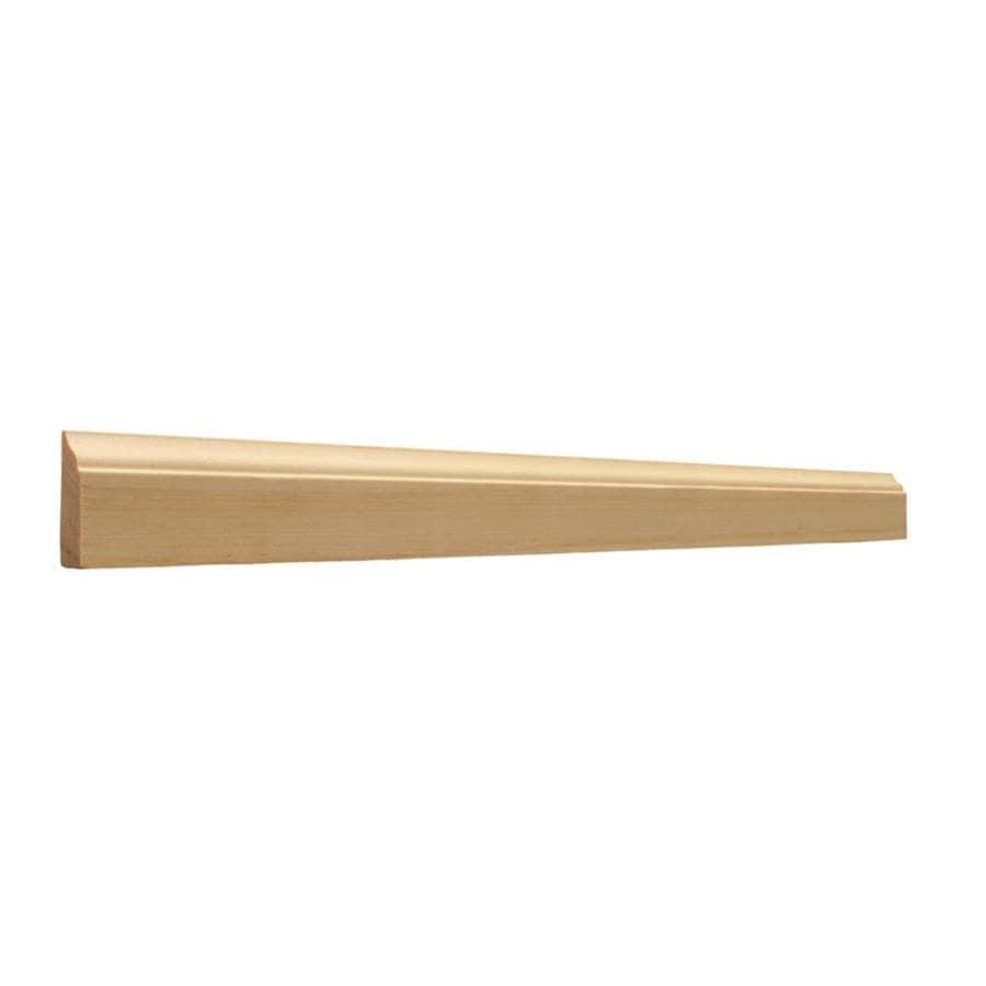 EverTrue 1.375-in x 10-ft Interior Pine Wood Stop Window Moulding