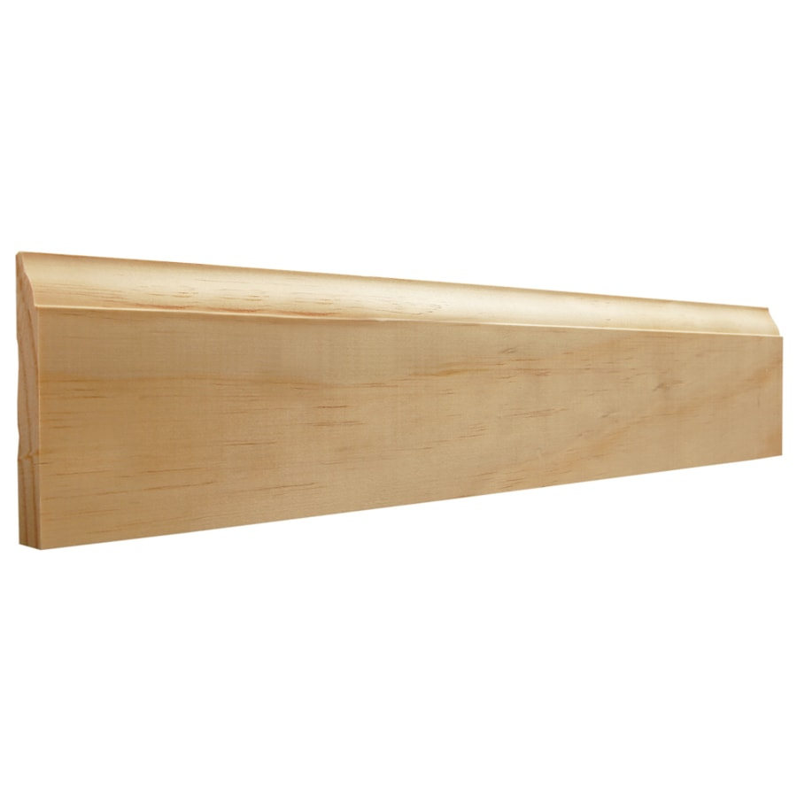EverTrue 3.25-in x 10-ft Interior Pine Baseboard