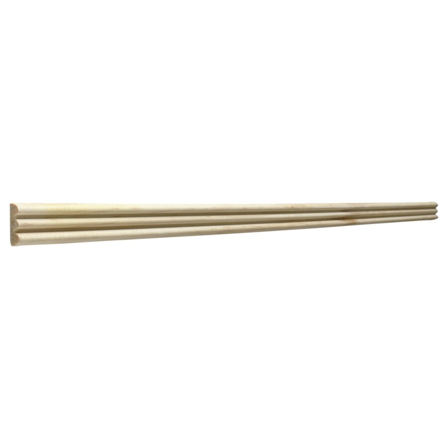 0.75-in X 8-ft Pine Chair Rail Moulding At Lowes.com