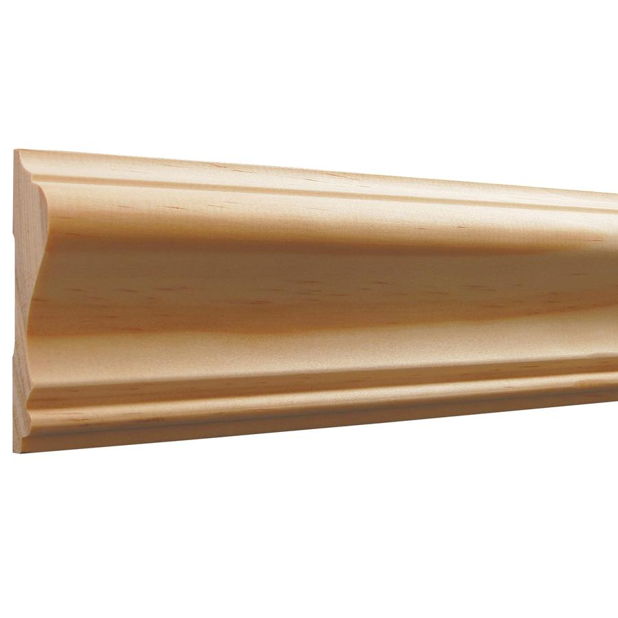 Charming Chair Rail 390 Part - 6: EverTrue 2.63-in X 8-ft Pine Chair Rail Moulding