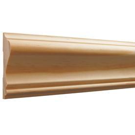 EverTrue 2.63 In X 8 Ft Pine Chair Rail Moulding