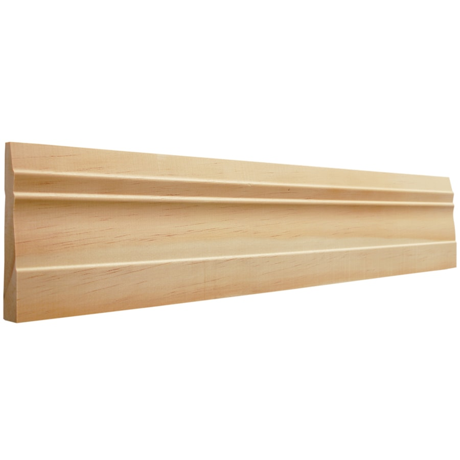 EverTrue 3.25-in x 8-ft Interior Pine Baseboard