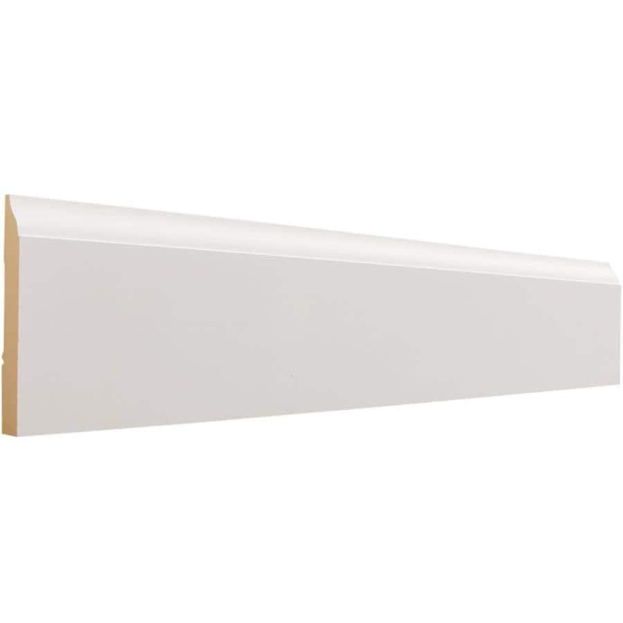 EverTrue 3.25-in x 8-ft Interior MDF Baseboard