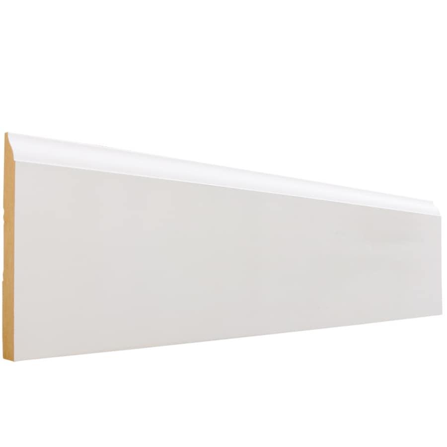 EverTrue 4.25-in x 8-ft Interior Primed MDF Baseboard Moulding
