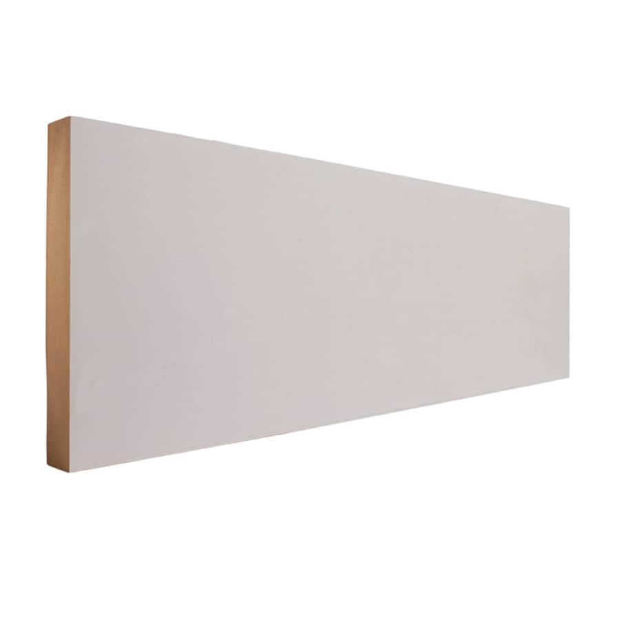 EverTrue 5.5-in x 8-ft Interior Primed MDF Baseboard Moulding