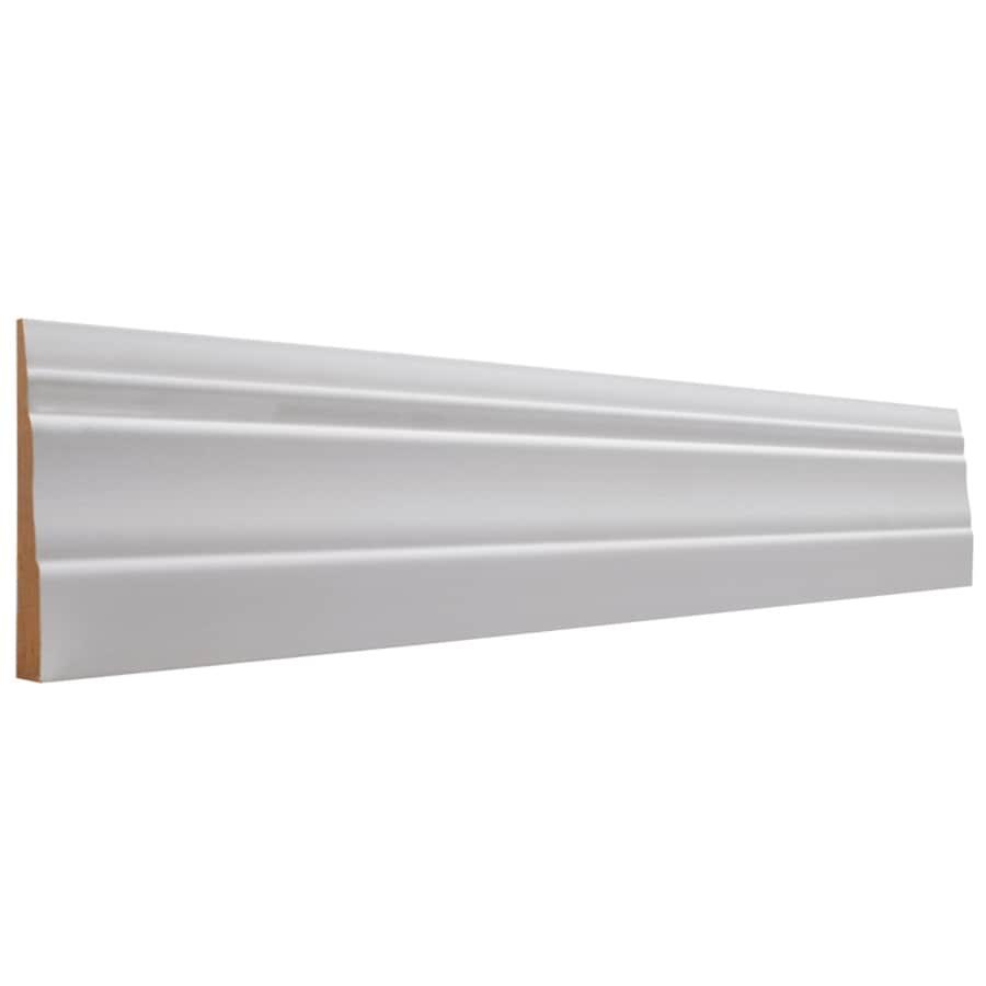 EverTrue 3.25-in x 8-ft Interior Primed MDF Baseboard Moulding