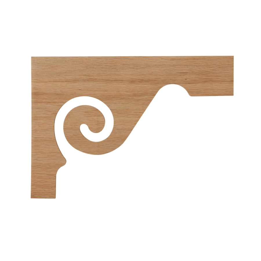 Creative Stair Parts 7.5-in x 11.5-in Wood Applique