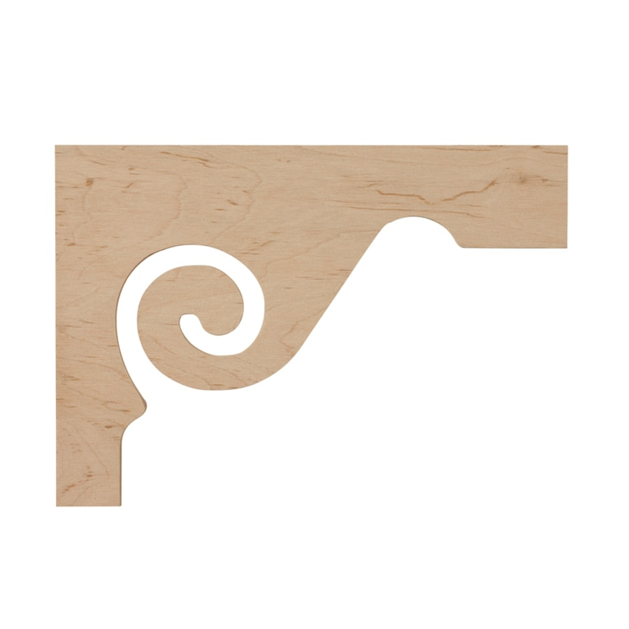 Creative Stair Parts 7.5-in x 11.5-in Maple Applique
