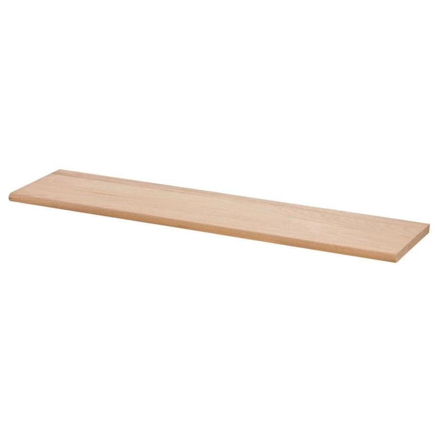 Creative Stair Parts 11.5-in x 72-in Raw Unfinished Red Oak Stair Tread