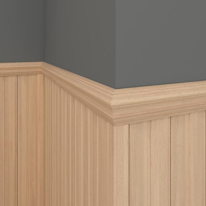 EverTrue 96-in Solid Wood Corner Guards At Lowes.com