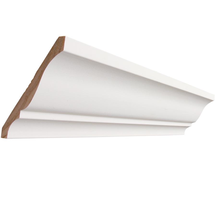 EverTrue 4.625-in x 8-ft Pine PFJ Crown Moulding