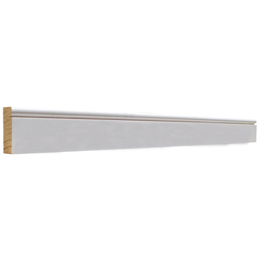 EverTrue 2-Pack 1.625-in x 7-ft Interior Pine Primed Finger Joint Baseboard Moulding