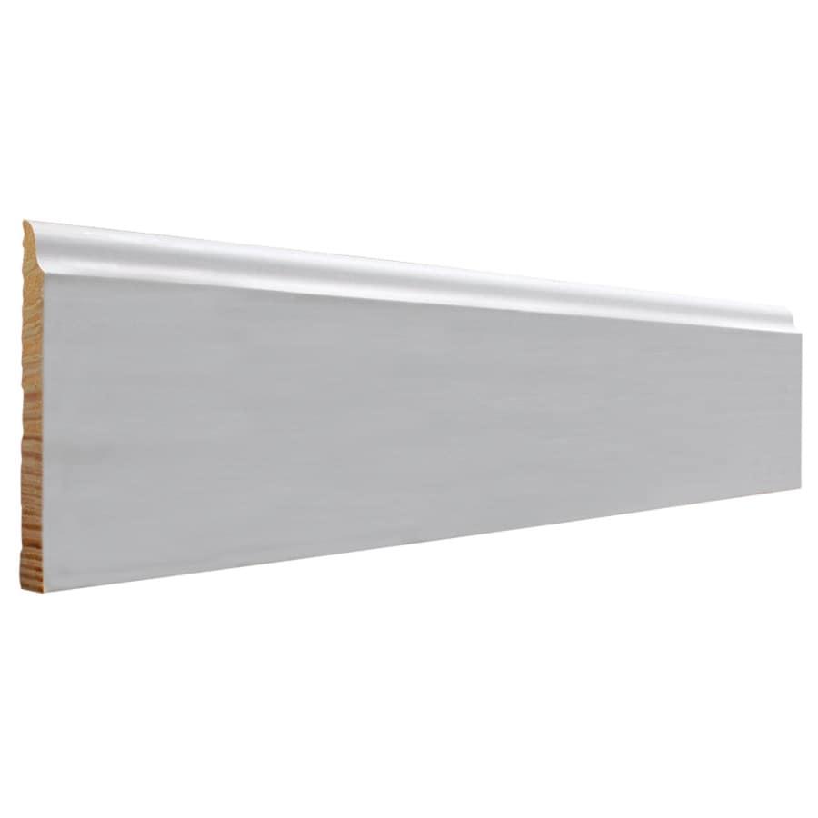 EverTrue 4.25-in x 12-ft Interior Pine PFJ Baseboard