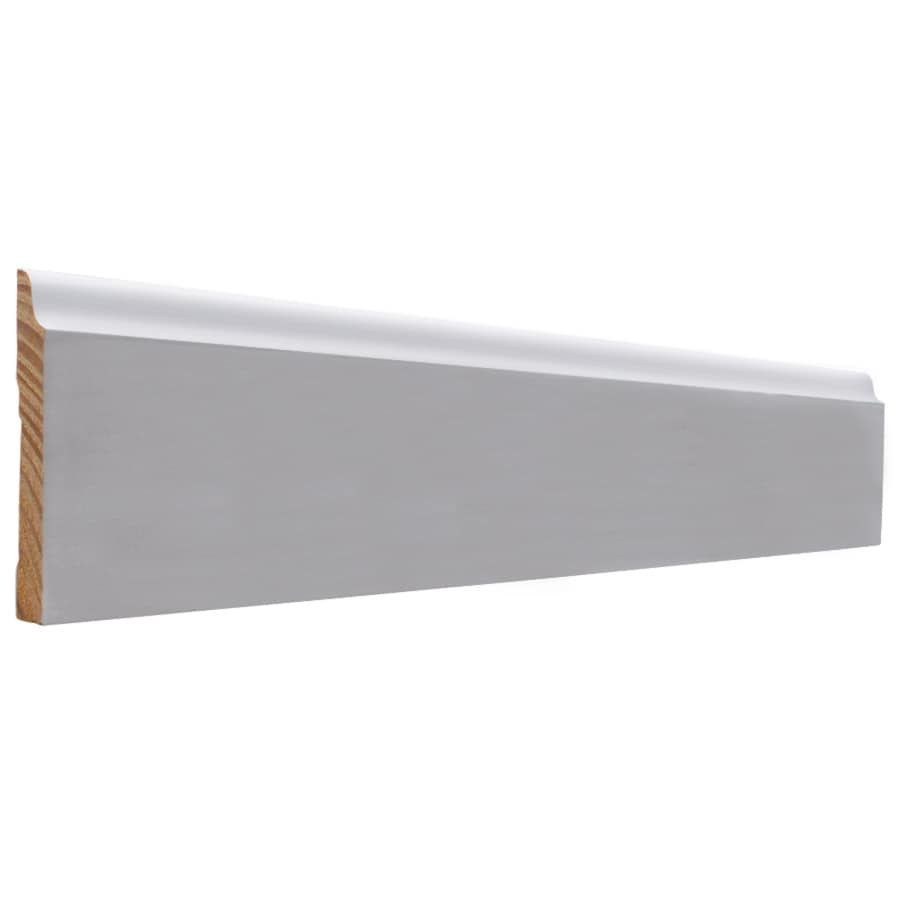 EverTrue 3.5-in x 8-ft Interior Pine PFJ Baseboard