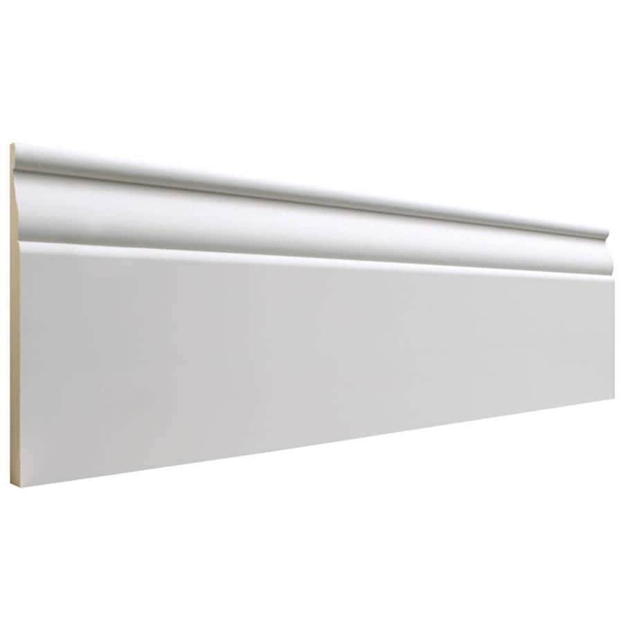 EverTrue 5.25-in x 8-ft Interior MF Baseboard