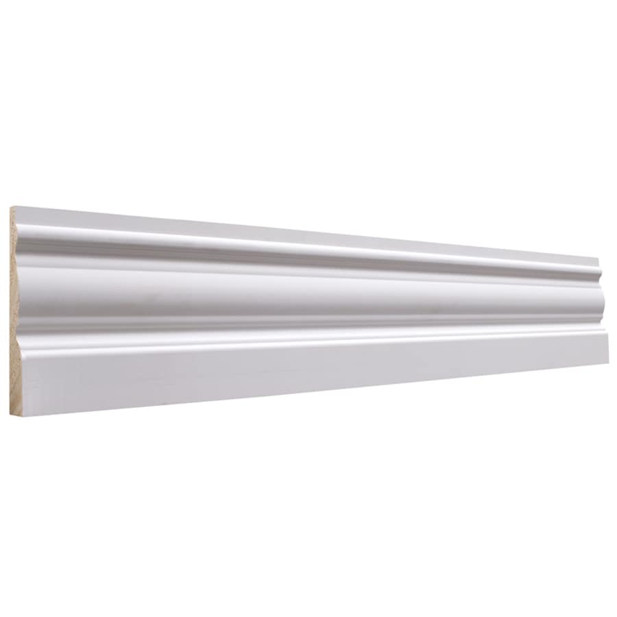 EverTrue 3.25-in x 8-ft Interior Pine PFJ Baseboard