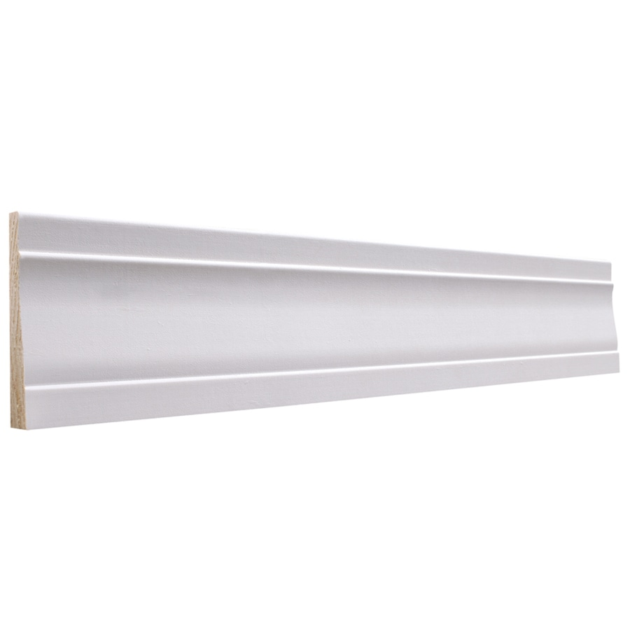 EverTrue 3.25-in x 8-ft Interior Pine Primed Finger Joint Baseboard Moulding