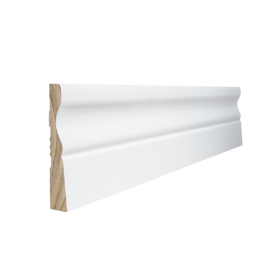 EverTrue 3.25-in x 8-ft Interior Pine Primed Finger Joint Baseboard Moulding