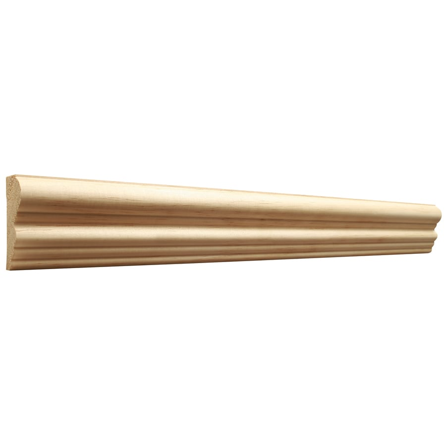 EverTrue 2.125-in X 8-ft Pine Chair Rail Moulding At Lowes.com