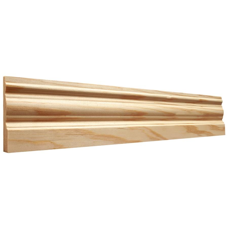 EverTrue 3.25-in x 12-ft Interior Pine Baseboard