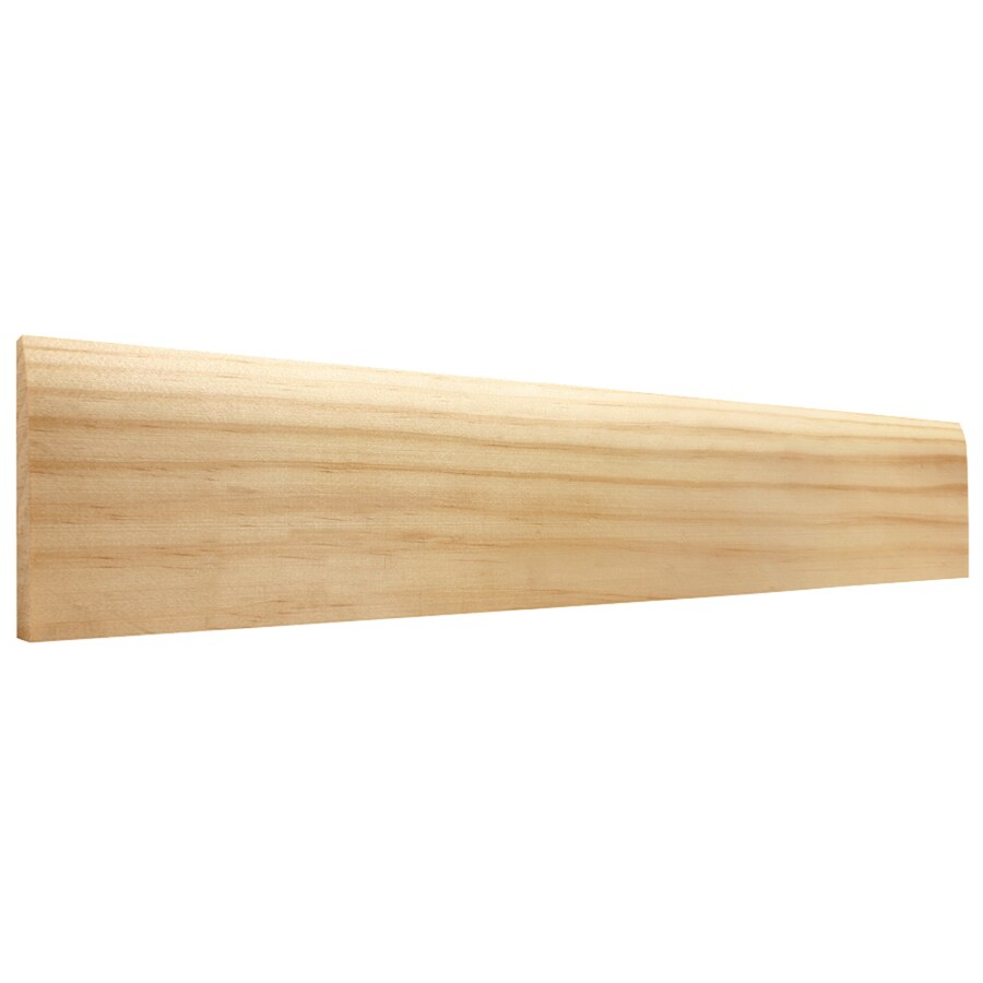 3-in x 8-ft Interior Pine Baseboard