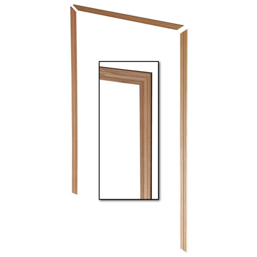 EverTrue 3-Pack 2.25-in x 6.96-ft Interior Red Oak Unfinished Window and Door Casing