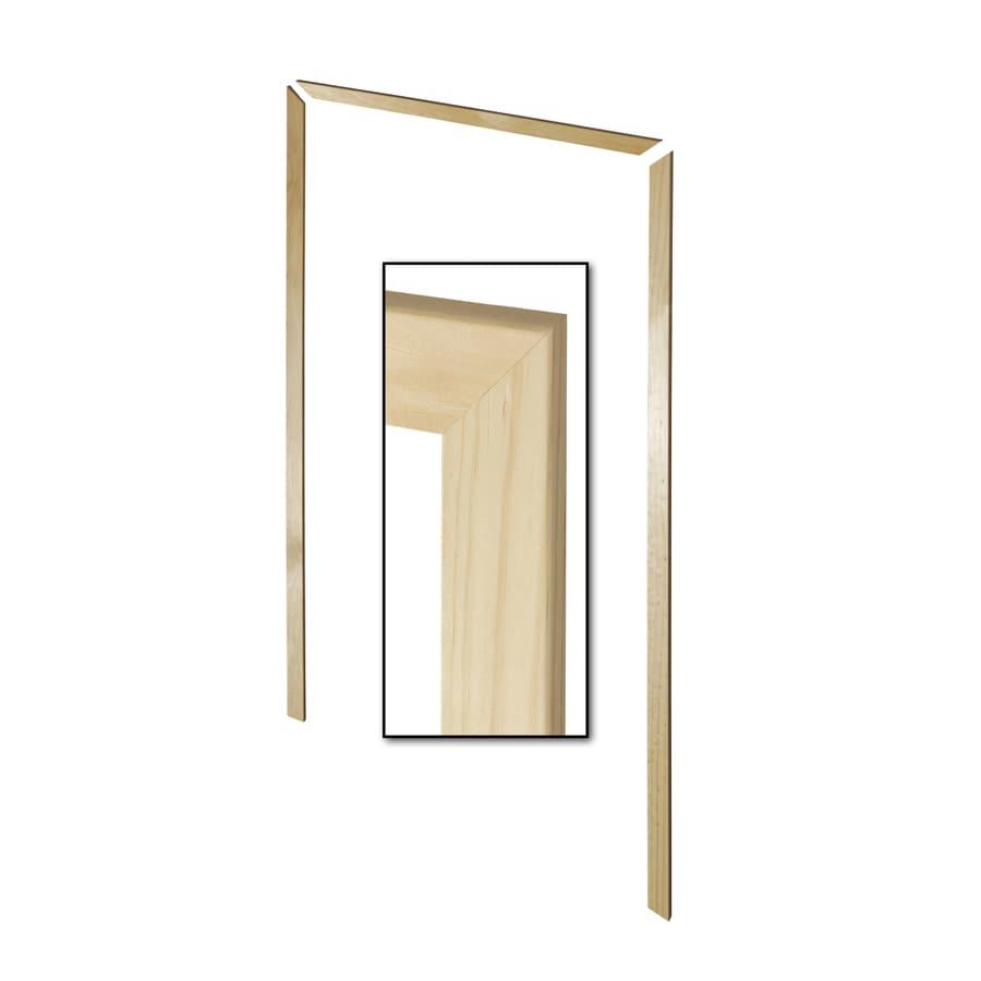 EverTrue 3-Pack 2.13-in x 6.75-ft Interior Pine Unfinished Window and Door Casing