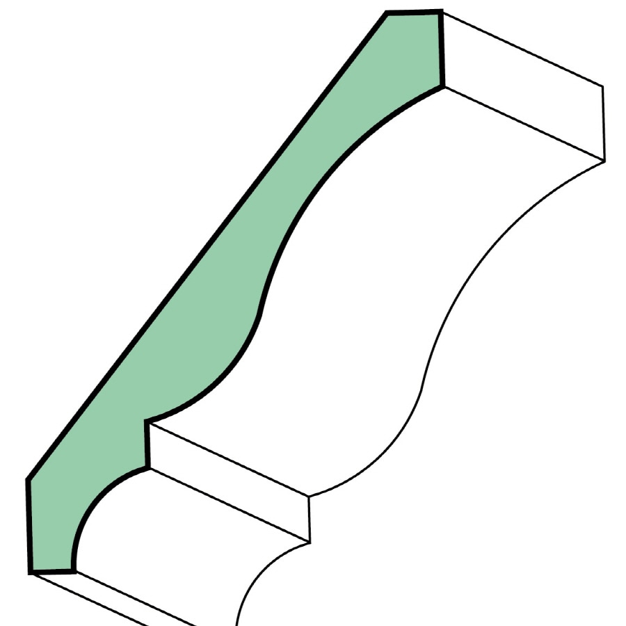 5.25-in x 8-ft Moulding