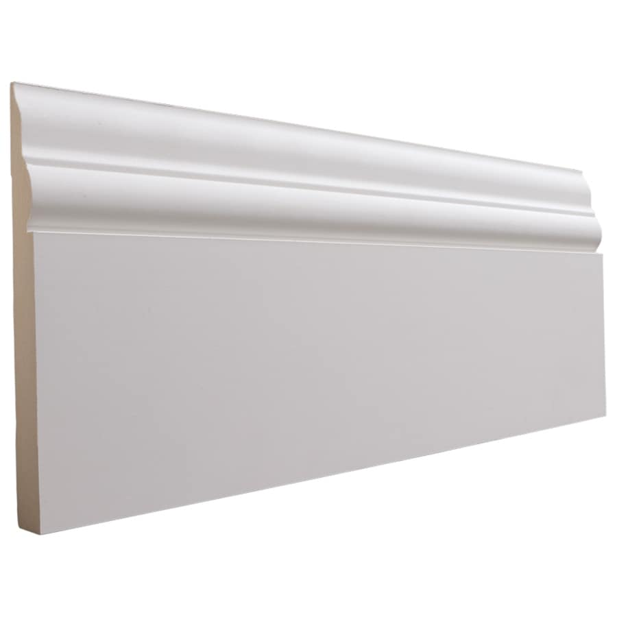 National Trust for Historic Preservation 5.5-in x 8-ft Interior Primed MDF Baseboard Moulding