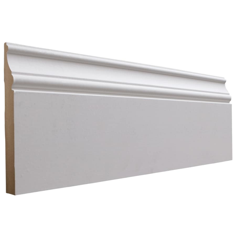 National Trust for Historic Preservation 6-in x 12-ft Interior MF Baseboard