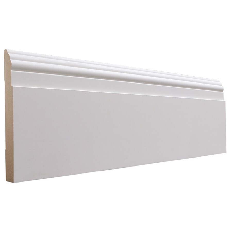 National Trust for Historic Preservation 5.5-in x 8-ft Interior MF Baseboard