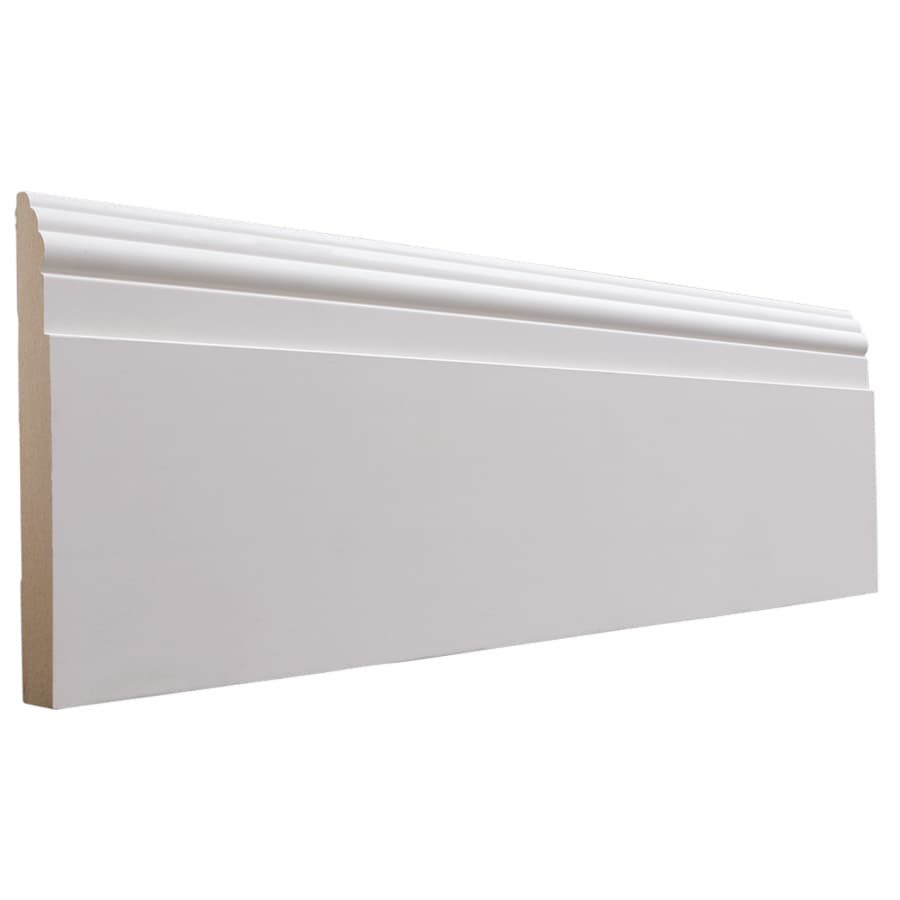 National Trust for Historic Preservation 5.5-in x 12-ft Interior MF Baseboard